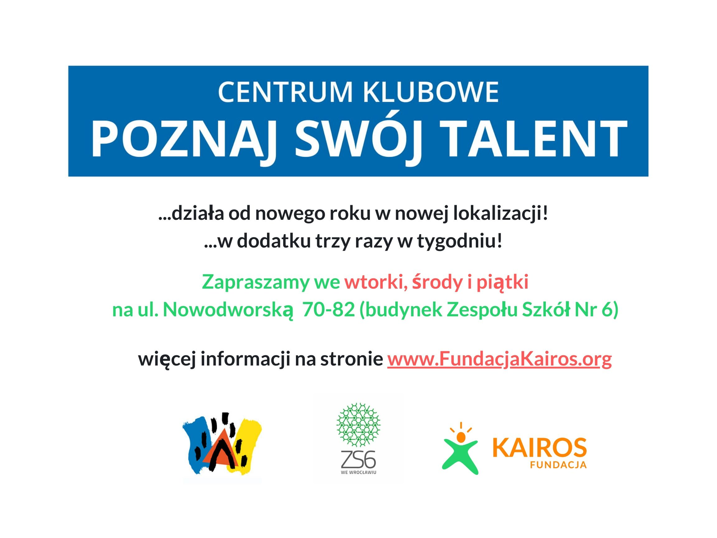 Plakat Centrum Klubowe-3